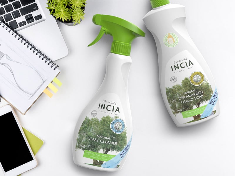 incia packaging design
