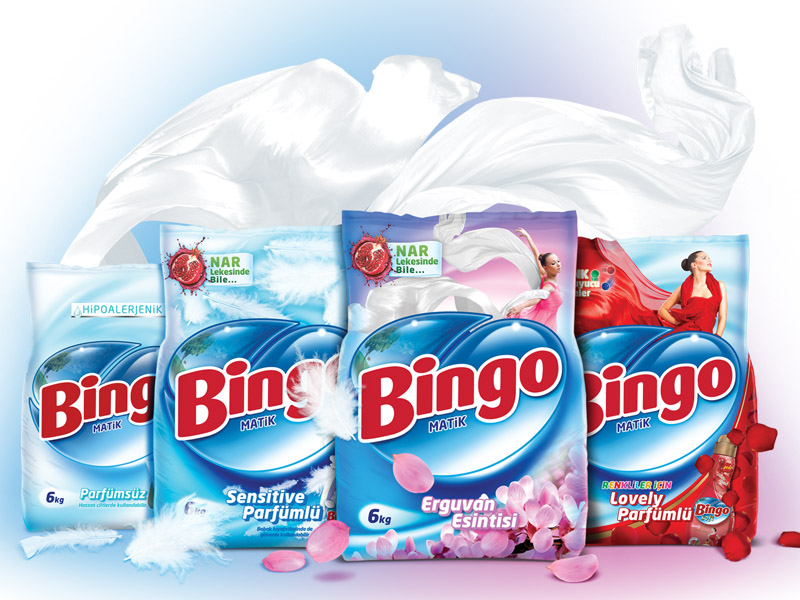 Bingo Matik Packaging Design