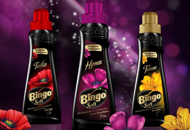 Bingo Soft Packaging design