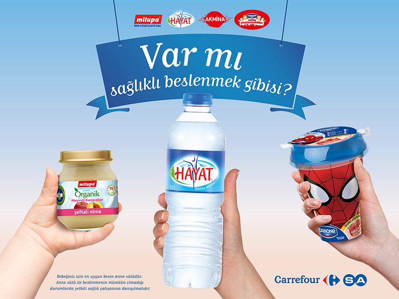 Danone Carrefour Design