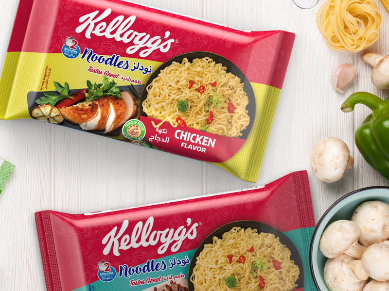 Noodles Packaging design