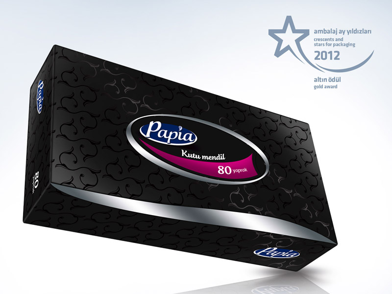 Papia Tissue Packaging Design