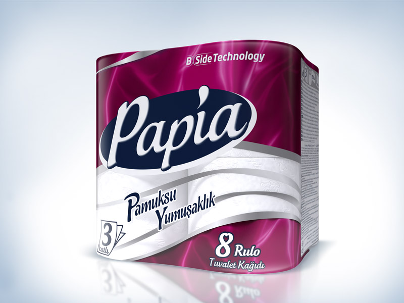 Papia packaging design