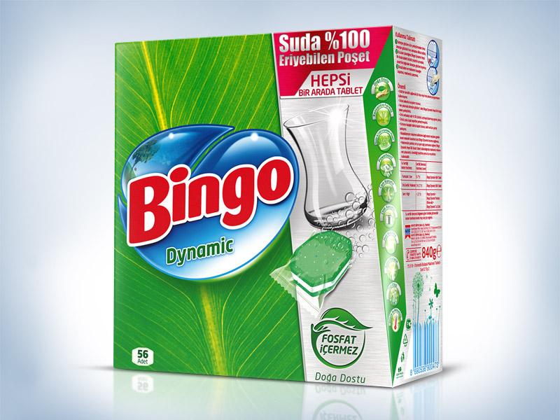 Bingo detergent ambalaj tasarımı
