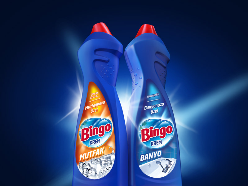 Bingo Krem Packaging Design