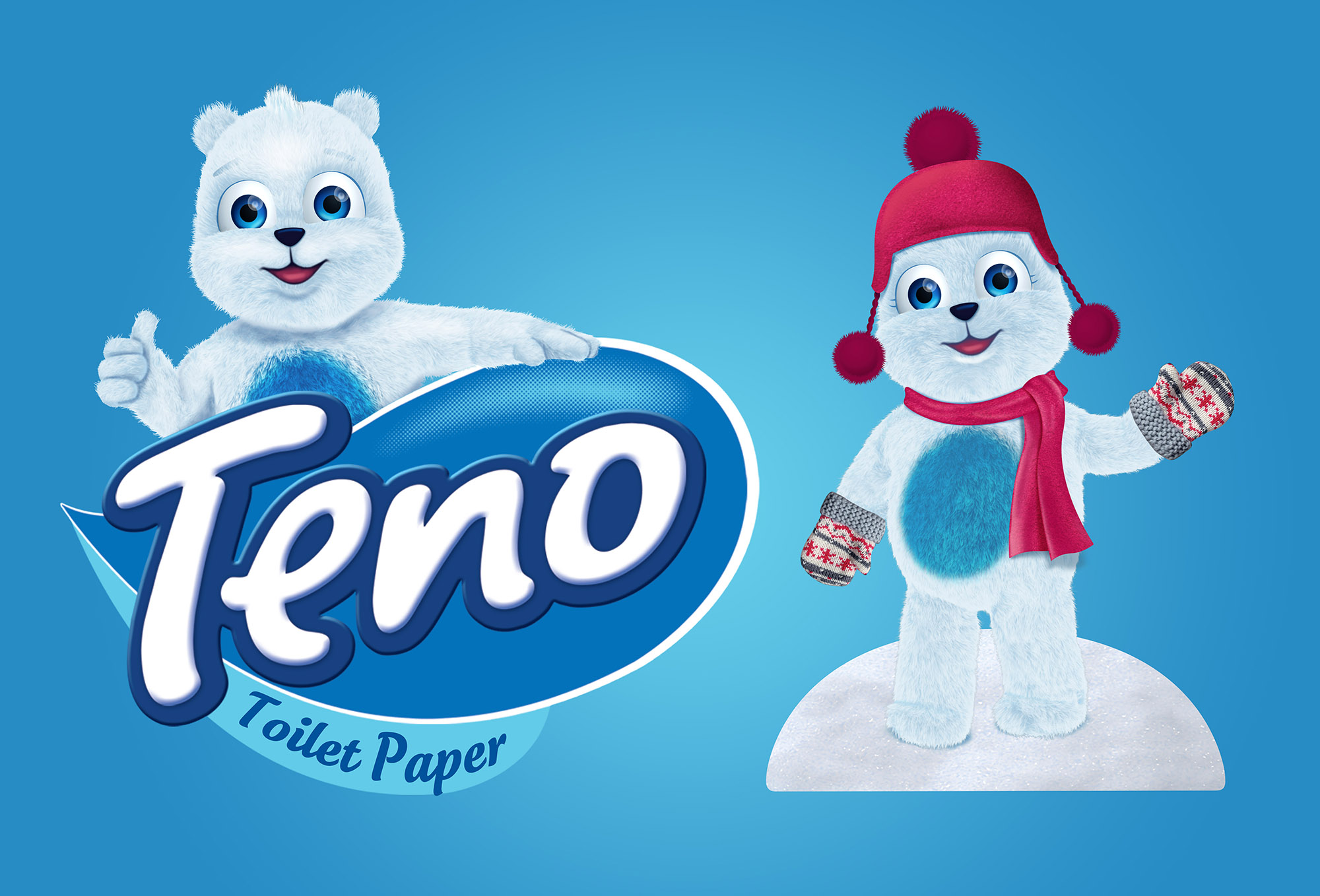 teno toilet paper packaging design