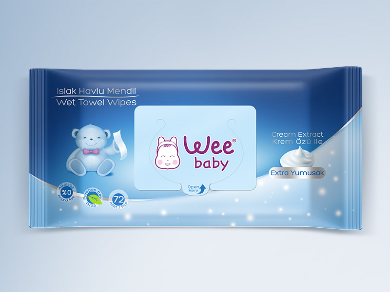 Wee Baby Packaging Design
